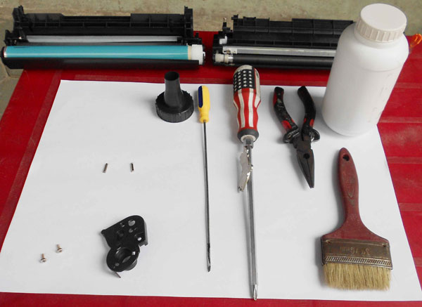 Công cụ đổ mực máy in ricoh sp310dn