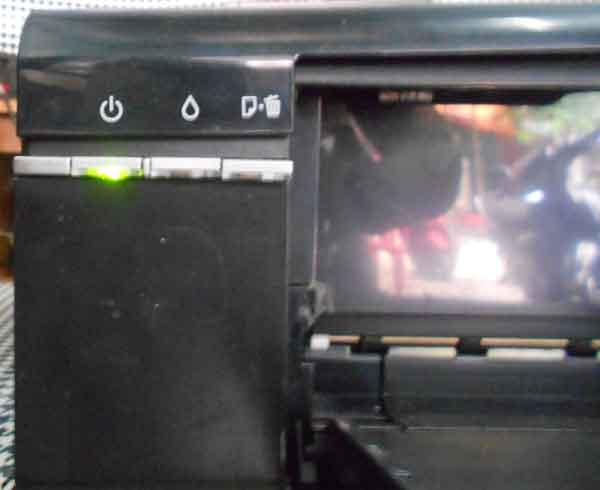 Sửa máy in màu đèn nguồn ok