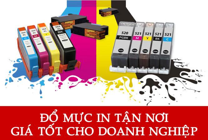 Đổ mực máy in tại Hà Đông