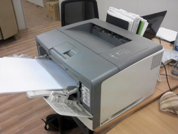 máy in canon 3500 bị kẹt giấy