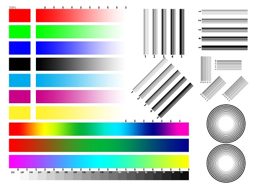 Đổ mực máy in màu