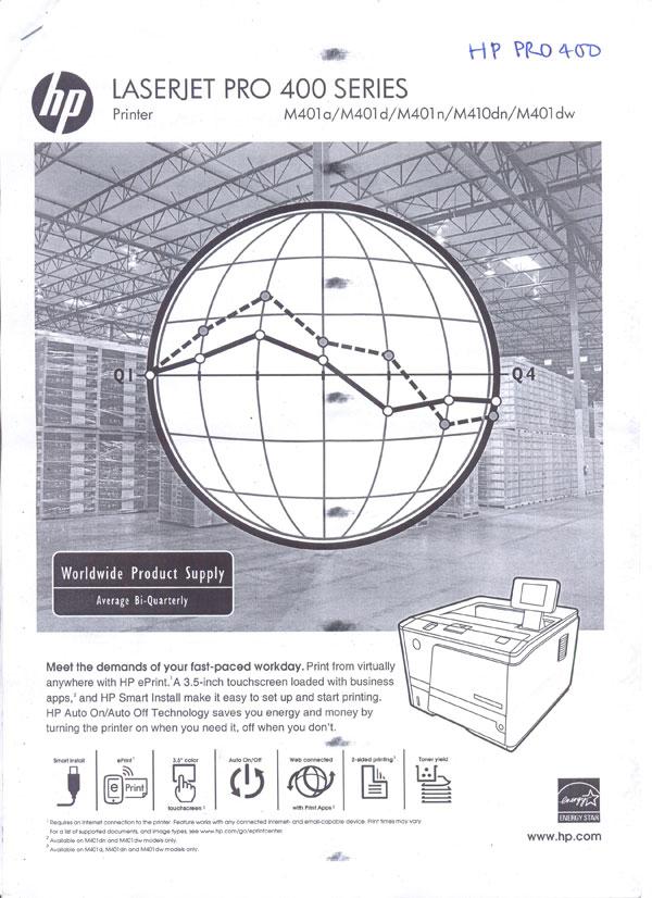 Hp pro400 lỗi trục cao áp