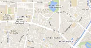Đổ mực máy in tại phố Dịch Vọng