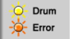 Máy in brother nháy đèn drum và error