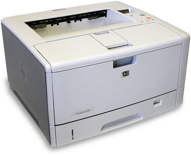 Máy in HP5200 báo lỗi Standard output bin full
