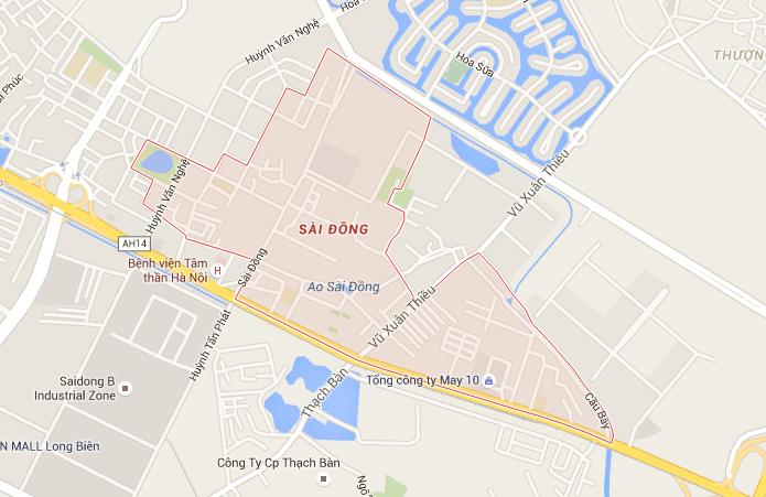 Đổ mực máy in tại Sài Đồng