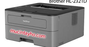 Đổ mực máy in Brother HL-2321d