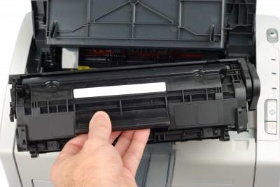 Đổ mực máy in ở Ngô Gia Tự
