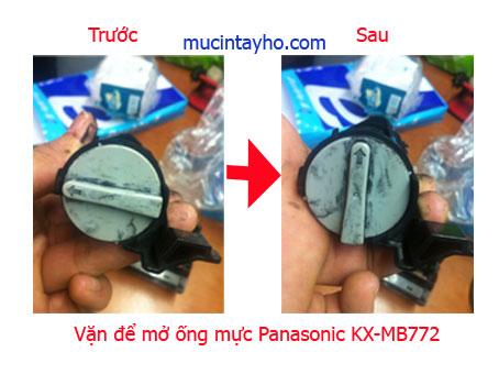 Đổ mực máy in Panasonic KX-MB772
