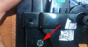 Reset máy in Panasonic