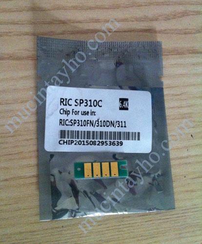 Chip mực máy in ricoh SP310dn