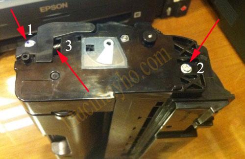 Đổ mực máy in ricoh SP310dn