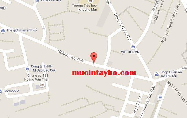 Đổ mực máy in tại Hoàng Văn Thái