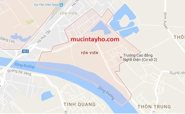 Đổ mực máy in tại Yên Viên