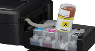 Đổ mực máy in màu Epson L210
