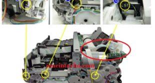 Máy in canon IX6560 kêu lọc cọc