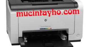 Đổ mực máy in màu HP CP1025