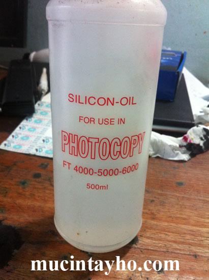 Dầu silicon máy photocopy
