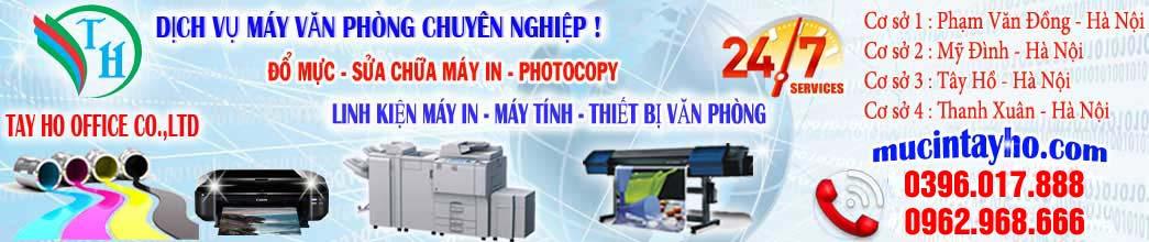 Đổ mực máy in tại hà nội | Đổ mực máy in tại nhà | Sửa máy in