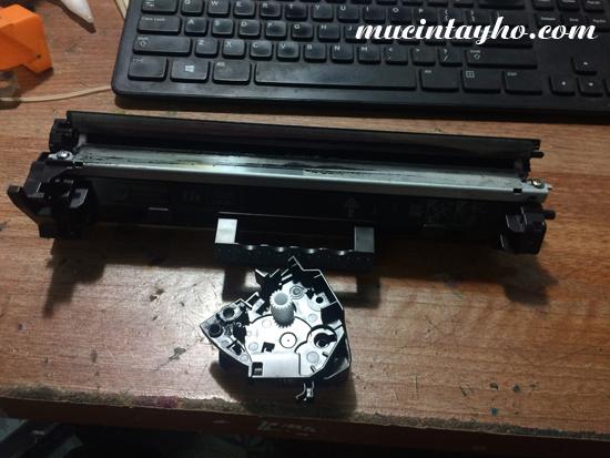 đổ mực máy in HP M227fdw