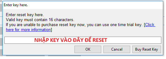 key reset may in canon g1000