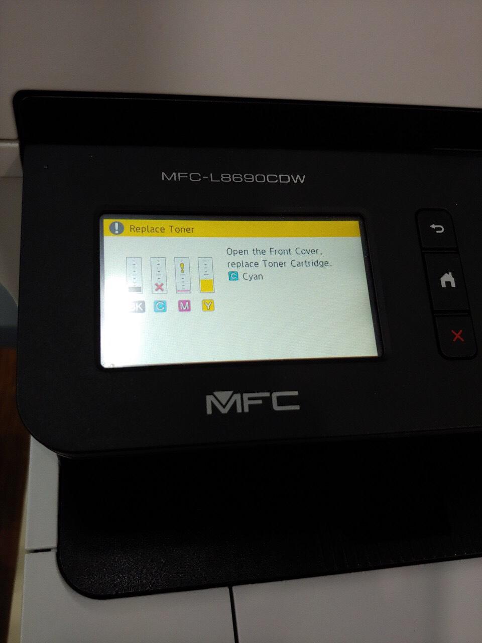 đổ mực máy in Brother MFC-L8690CDW