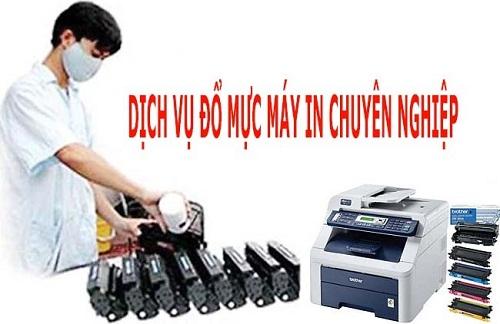 Đổ mực máy in tại Giảng Võ
