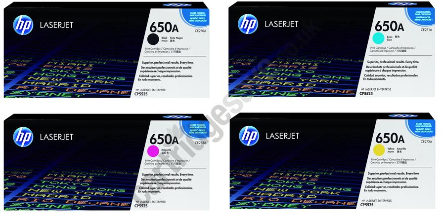 Đổ mực máy in màu HP M750