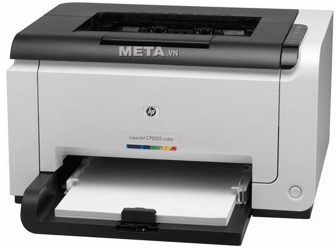 Đổ mực máy in màu HP Pro CP1025