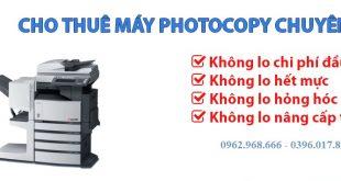 Cho thuê máy photocopy tại Khu công nghiệp Quang Minh