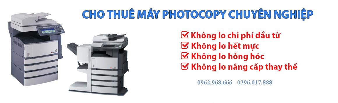 Cho thuê máy photocopy tại Hải Dương