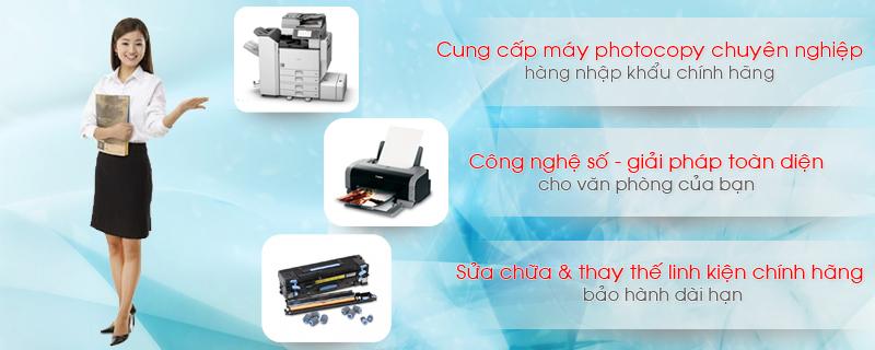 Sửa máy photocopy tại Cầu Giấy