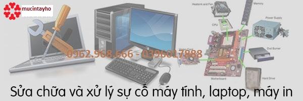 Sửa máy tính tại nhà Phạm Văn Đồng