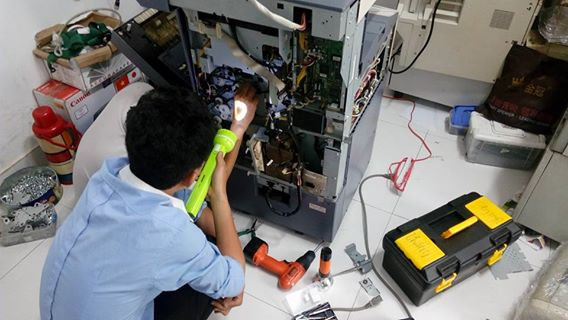 Sửa máy photocopy tại quận Tây Hồ