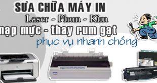 Đổ mực máy in tại Láng Hạ Đông