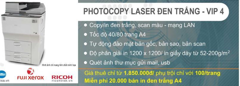 Cho thuê máy photocopy tại Mỹ Đình