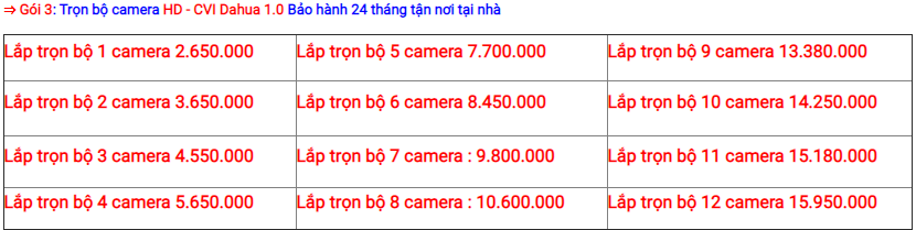 lắp Camera chống trộm hồng ngoại