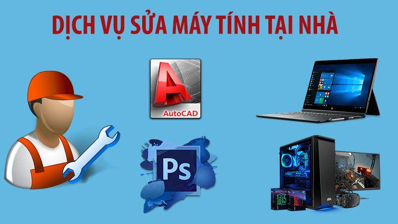 Sửa máy tính tại nhà Tân Xuân