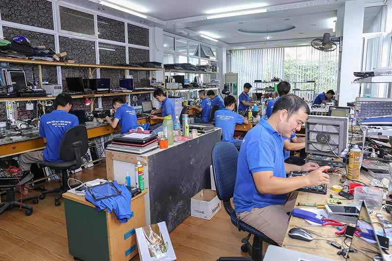 Sửa máy tính tại nhà Cầu Giấy - Hà Nội