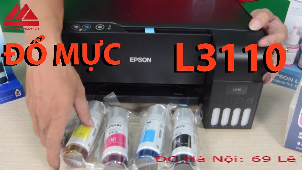 Đổ Mực Máy In Epson L310