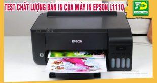 Đổ mực máy in epson l1110